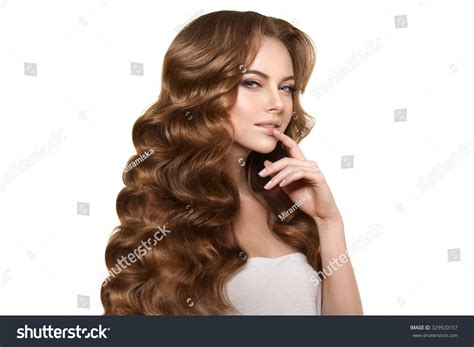 Haar Modellen by Model With Hair Waves Curls Hairstyle Hair Salon