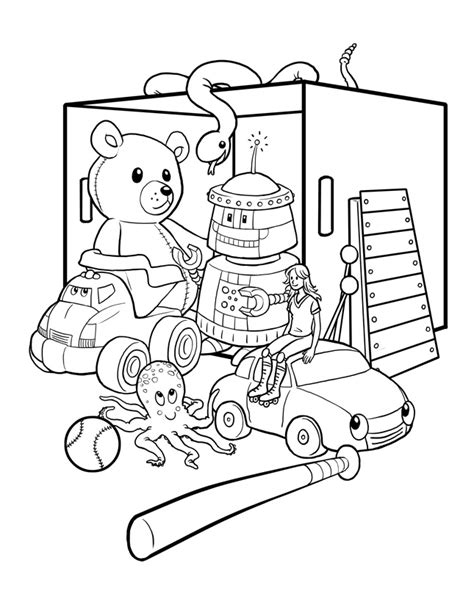toys coloring pages preschool toys coloring page preschool coloring pages