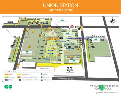 chicago union station floor plan map of union station toronto my blog