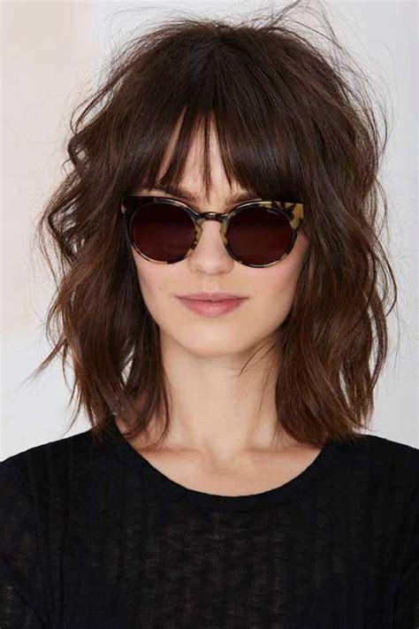 haircuts for curly hair short with bangs short to medium hairstyles for wavy hair short