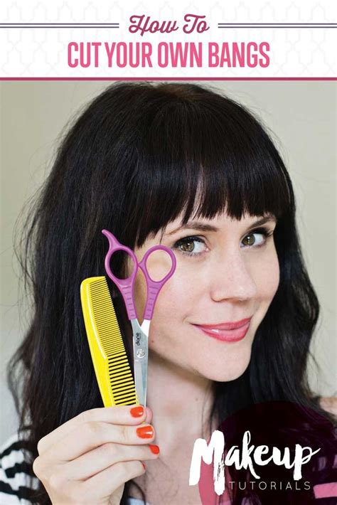 how to trim your own bangs side swept how to cut your own bangs not regret it bangs
