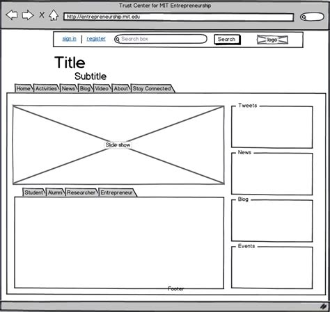 Sle Wireframe Diagram Choice Image How To Guide And Refrence Wireframe Template Word