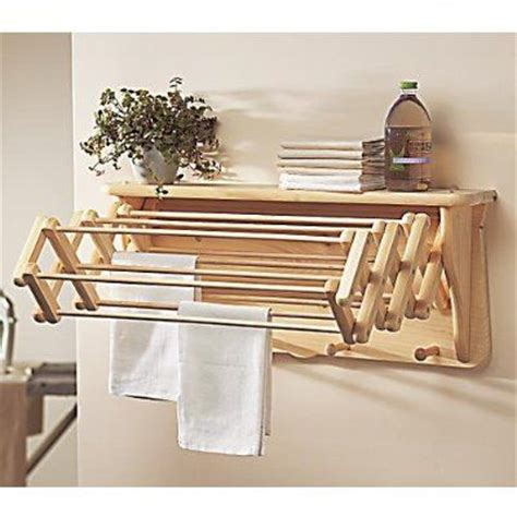 laundry room drying rack for small laundry rooms gaiam laundry drying rack wall shelf extends to 22 quot