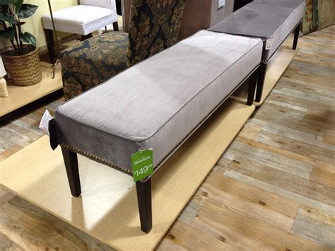 upholstered bench ikea eaton tufted upholstered bench in theater gunsmoke and
