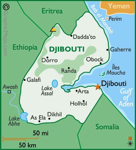 djibouti map djibouti map newhairstylesformen2014