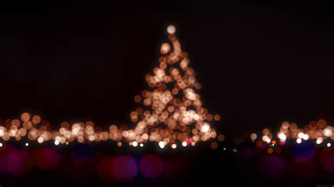 ah christmas lights bokeh love dark night papersco