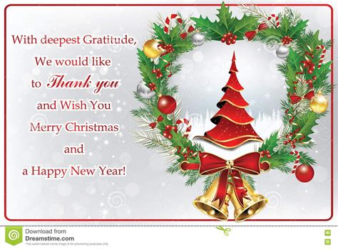 christmas thank you cards 2017 best template idea