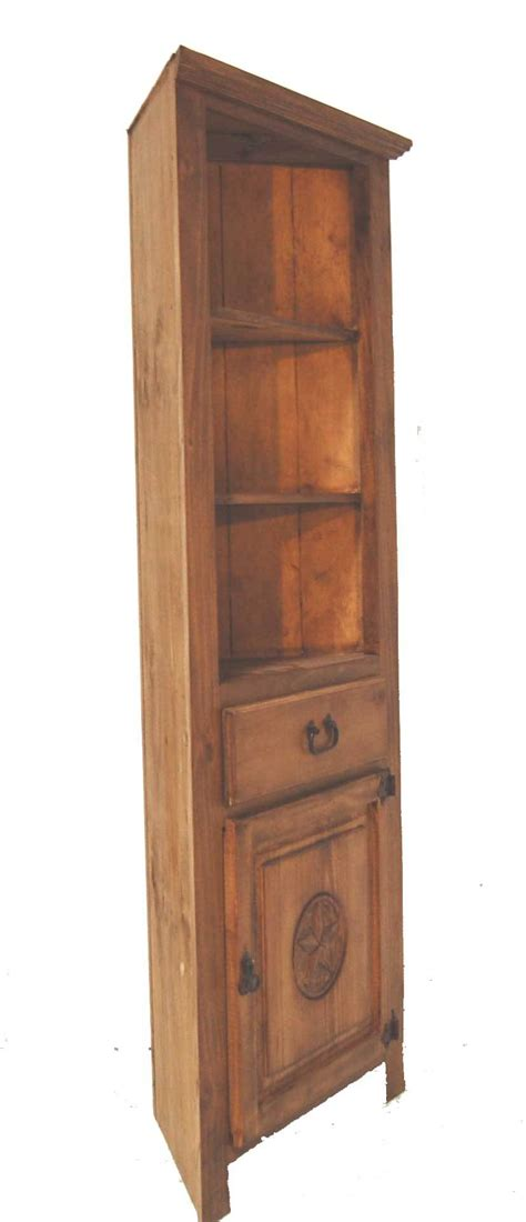 corner bookcase w great western furniture company