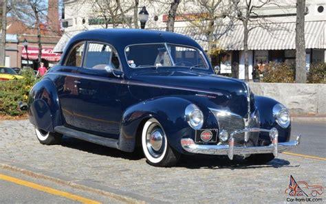 Cool 2 Door Cars 1940 Mercury Coupe Classic Original Car Excellent