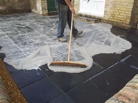 Patio Pointing Compound by Grouting Patio Slabs Uk Icamblog