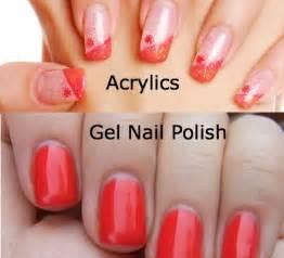 acrylic nails vs gel nails a
