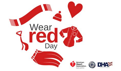wear red day healthmil