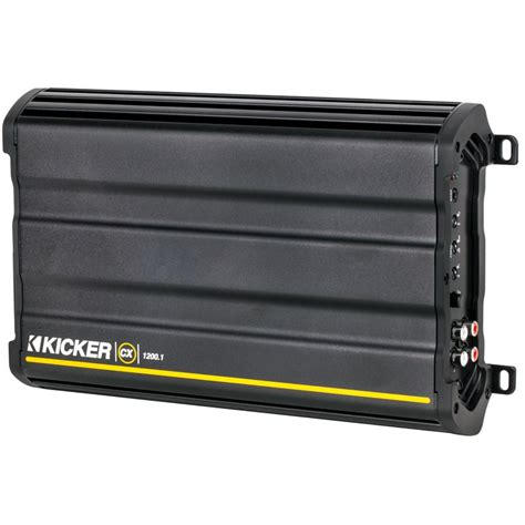 Kicker Cx 1200 1 kicker cx1200 1 1 200 watt rms single channel class d car