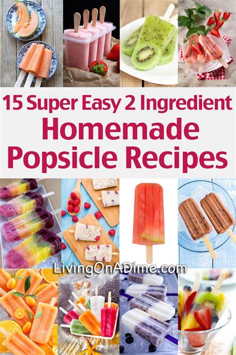 do it yourself 15 homemade popsicles money saving mom 174