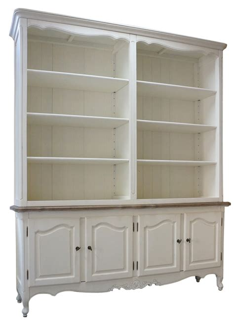 provincial buffet and open hutch sideboard dresser