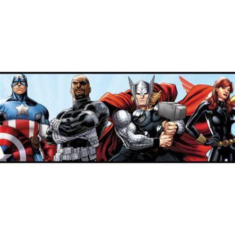captain america wallpaper border ds7841bd avengers border discount wallcovering