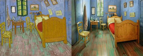 vincent van gogh the bedroom rent a re creation of vincent van gogh s bedroom on airbnb