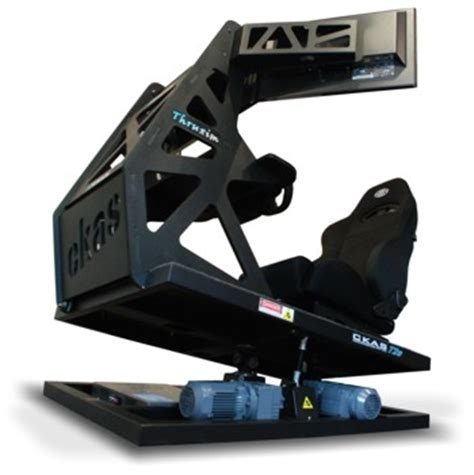 Flight Simulator Chair by Ckas Thruxim Motion Simulator