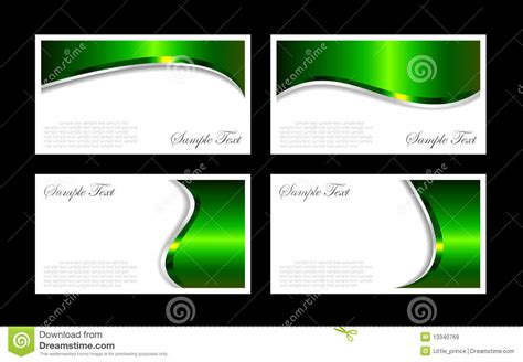 royalty free word compatible business card templates business cards templates stock vector image of office