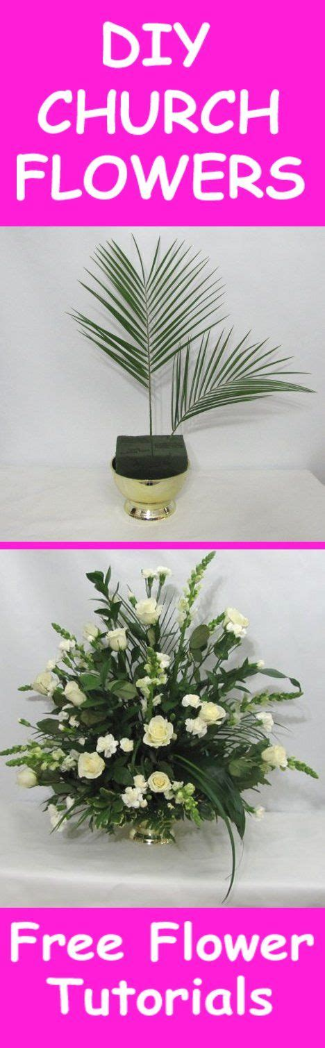 Learn How To Diy A Corsage by 17 Migliori Idee Su Church Flower Arrangements Su