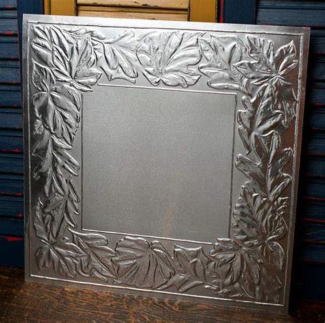 tin metal ceiling tiles 12 quot galvanized metal vintage look tin leaf ceiling tile
