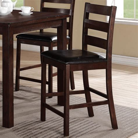 Crown Royal Bar Stools by Crown Quinn Counter Height Ladderback Chair With