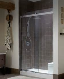 kohler showering bathroom