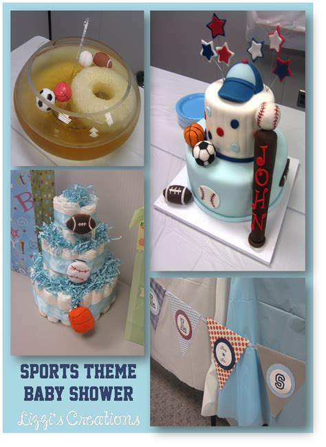 sports theme bathroom baby shower centerpieces for boy sports www pixshark com