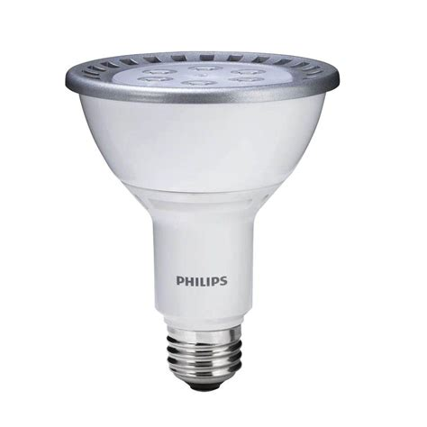 Philips 75w Equivalent Daylight 5000k Par30l Dimmable Led Flood Light Bulbs