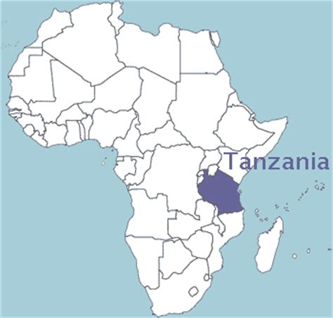 africa map tanzania tanzania maps of tanzania