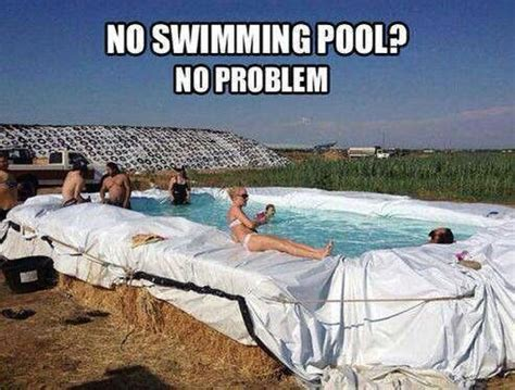 how to build a hay bale swimming pool redneck pool tim s board pinterest