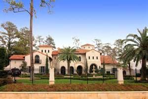 Mediterranean Style Mansions Opulent Mediterranean Style Mansion In Texas