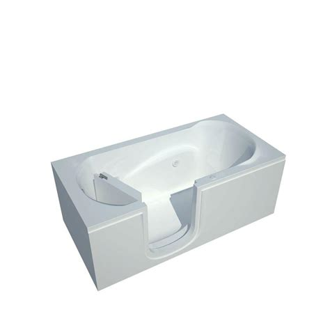 heated whirlpool bathtubs universal tubs nova heated step in 5 ft walk in whirlpool