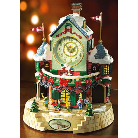 mr christmas 174 animated holiday time music box 165299