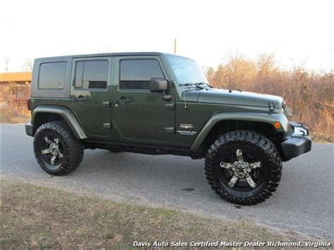 used jeep wrangler 4 door for sale lifted gray camo jeep for sale autos post