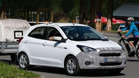 nuova ford ka 5 porte nuova ford ka 2016 foto spia foto 5 6 allaguida