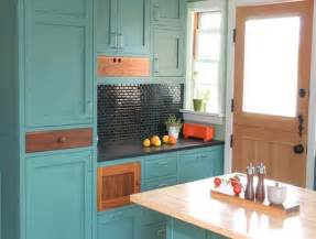 Turquoise Cabinets Kitchen by Turquoise Kitchen Cabinets For Any Kitchen Styles Homesfeed
