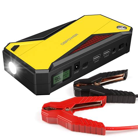 Car Set Kerropi 8in1 Barokah 1 dbpower 600a peak 18000mah portable car jump starter