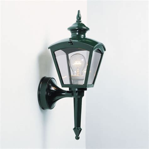 Konstsmide Outdoor Lights Konstsmide 480 600 Cassiopeia 1 Light Green Outdoor Wall Light
