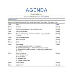 Template For Meeting Agenda by 46 Effective Meeting Agenda Templates Template Lab