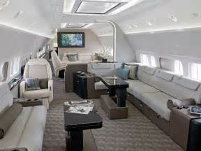 jet interiors the jumbo jets boeing and airbus turn into posh private planes wired