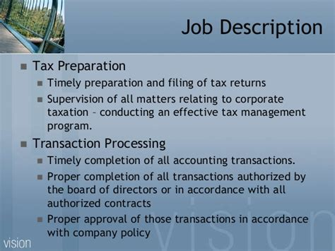 tax preparer description resume resume ideas