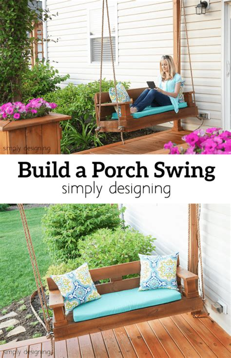 where can i buy a porch swing build a porch swing