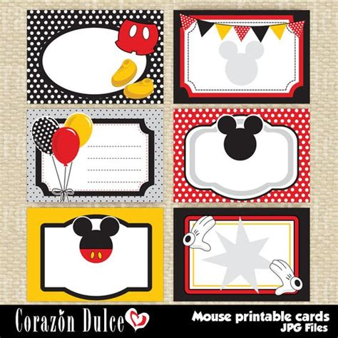 How To Use Multiple Disney Gift Cards Online - printable cards mice and gift tags on pinterest