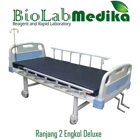 Ranjang Pasien 2 Engkol pabrik produksi tempat tidur pasien biolab medika
