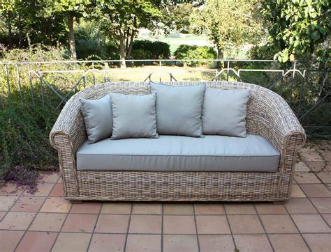 divanetti rattan arredamento per esterno mobili da giardino salotti per