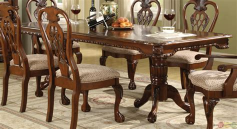 Traditional Dining Room Set by Brussels Traditional Dining Room Table And Chairs 7 Set