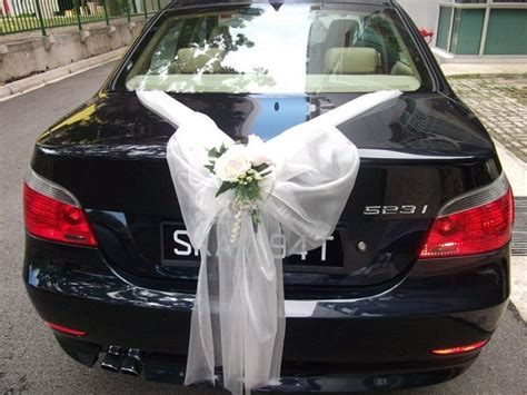 cer decorating ideas best 25 wedding car decorations ideas on