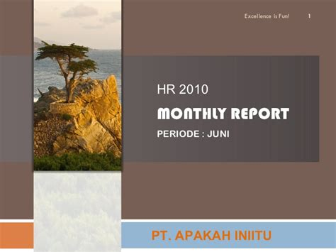 format laporan tahunan hrd laporan bulanan hrd