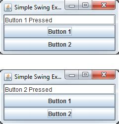simple swing application exle 9 1 developing with swing ee402 object oriented